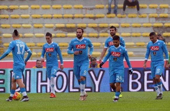 ФК «Наполи» прерывает свою великолепную серию. Придется начинать вновь…