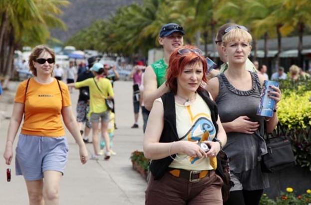 Количество российских туристов в Сан-Ремо сократилось на 30%