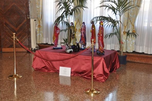 Искусная работа муранских ремесленников появится в Риме и Венеции