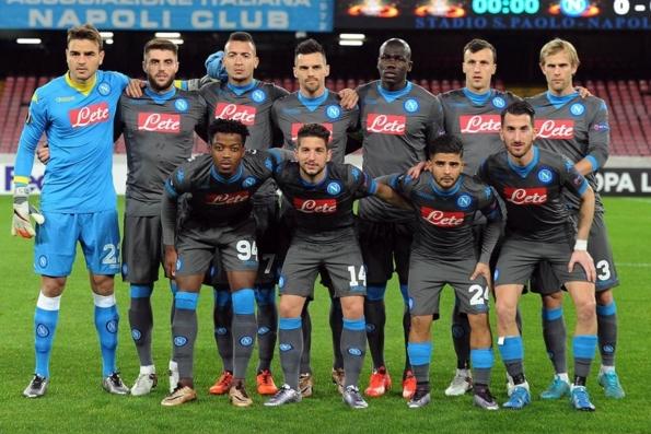 Второй состав ФК «Наполи» громит соперника в Лиге Европы