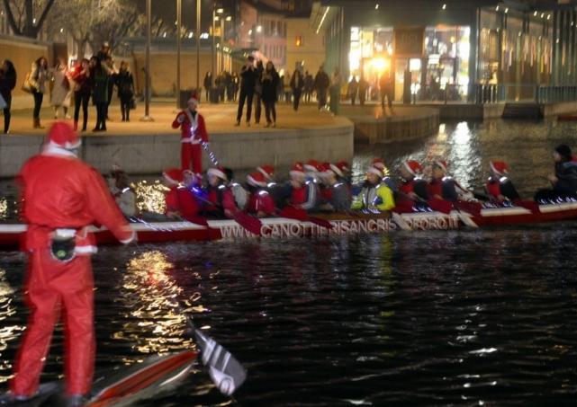 Миланский канал Навильо Гранде и подводный вертеп