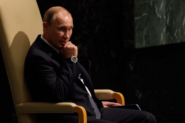 Путин – самый влиятельный политик 2015 года