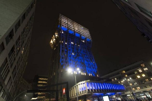 Милан. Новый «наряд» для башни Веласка
