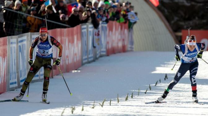 В спринте Карин Оберхофер заняла 9-е место, а в гонке преследования Доротея Вирер с 16-й позиции поднялась на 8-ю.