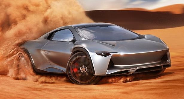 Новый внедорожник от Camal снабдят двигателем от Bugatti