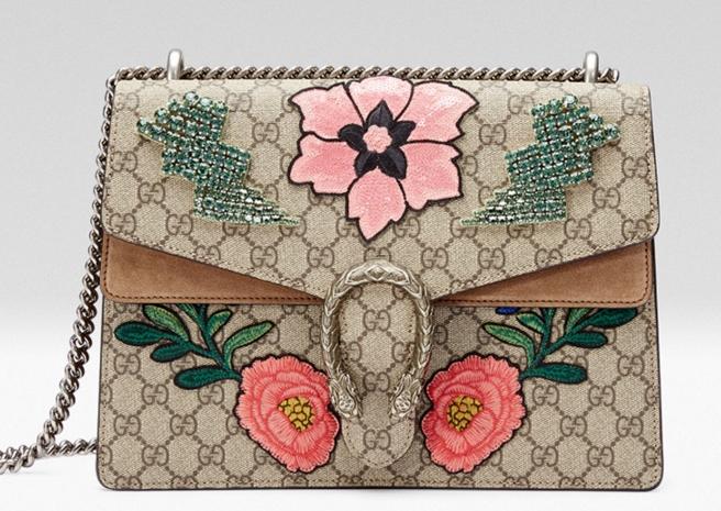 Новые сумочки от Gucci буду посвящены известным городам мира