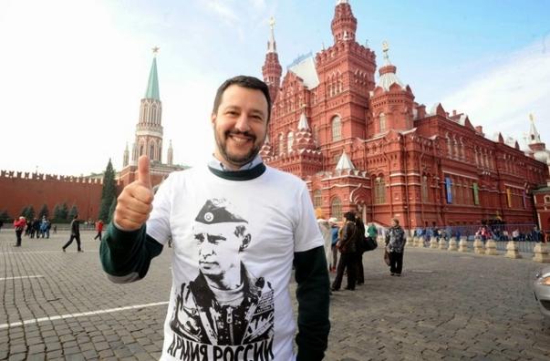 Маттео Сальвини мечтает еще раз приехать в Крым