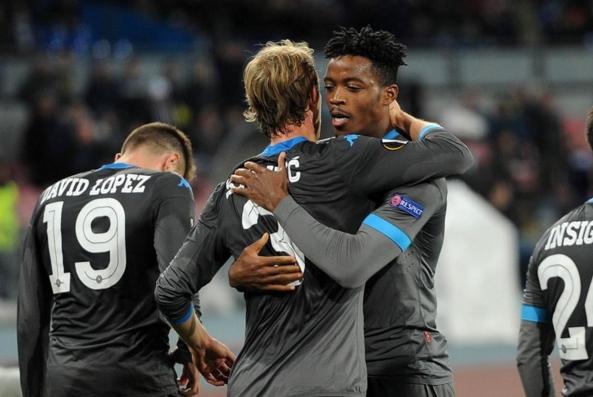 Шесть побед в шести матчах – блестящая серия «Наполи» в Лиге Европы!