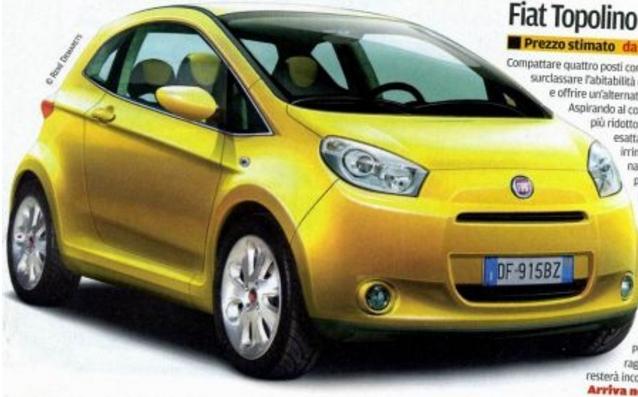 Fiat: компактные авто Topolino вернуться к жизни