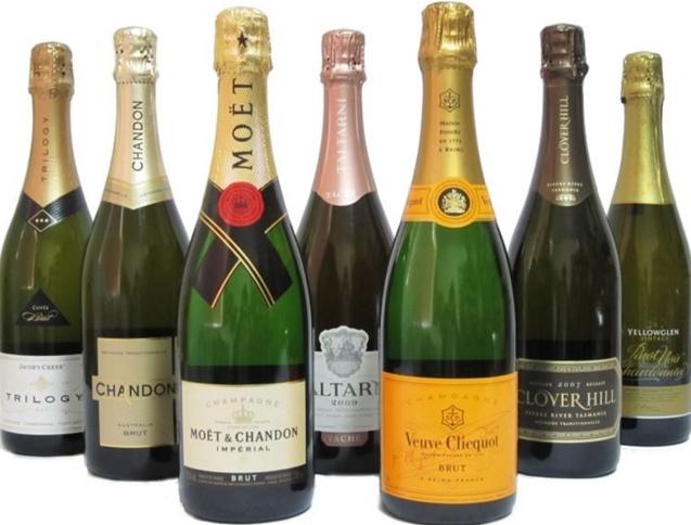 Рекордсменов среди шампанских вин в 2015 году стало французское шампанское