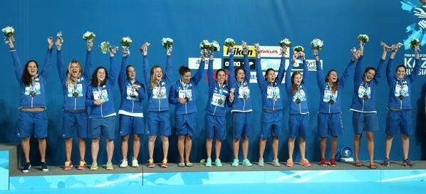 Водное поло. Чемпионат Европы. Итальянские девушки стартуют в борьбе за медали и олимпийские путевки