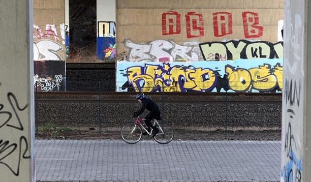 Германия. Автобан для велосипедистов