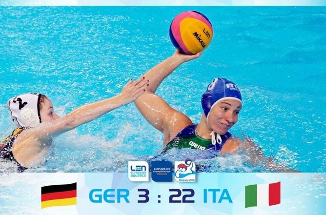 Италия – Германия 22:3