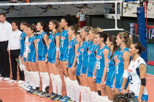 Женская сборная Италии по волейболу стартует в олимпийском квалификационном турнире
