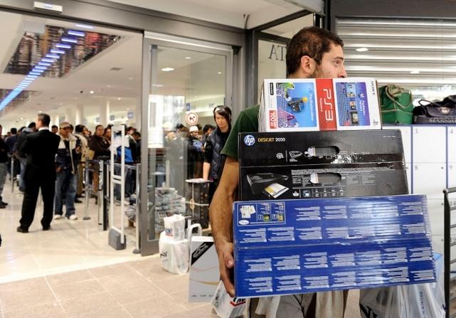 Объем розничных продаж в Италии в октябре упал на 0,3%