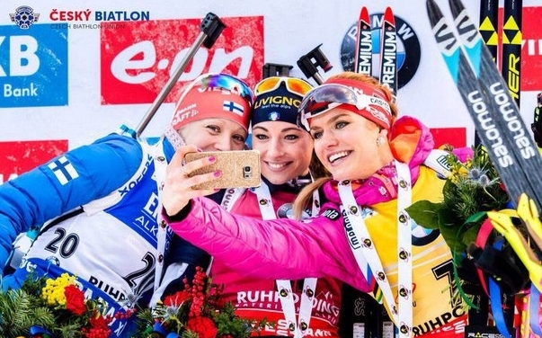 В индивидуальной гонке на этапе в Рупольдинге неплохо выступила молодая подруга Вирер по сборной Федерика Санфилиппо