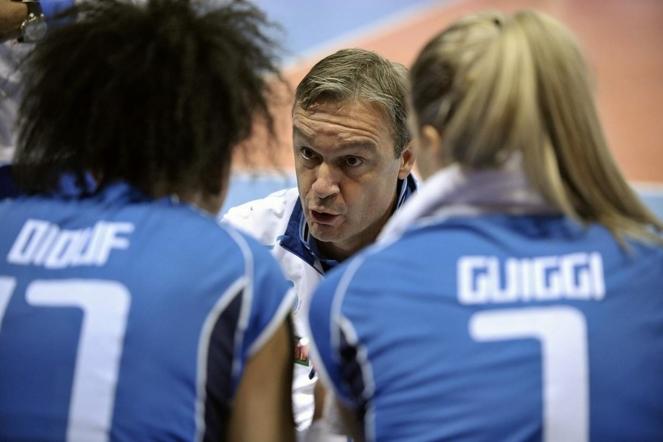 Девушки из Италии, ведомые Марко Бонитта, стартовали в группе с поражения от сборной России – 1:3