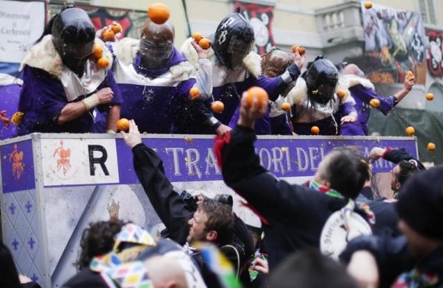 «Orange Battle» – так назовут игру, которая создана в честь карнавальной битвы в городке Ивреа, что недалеко от Пьемонта