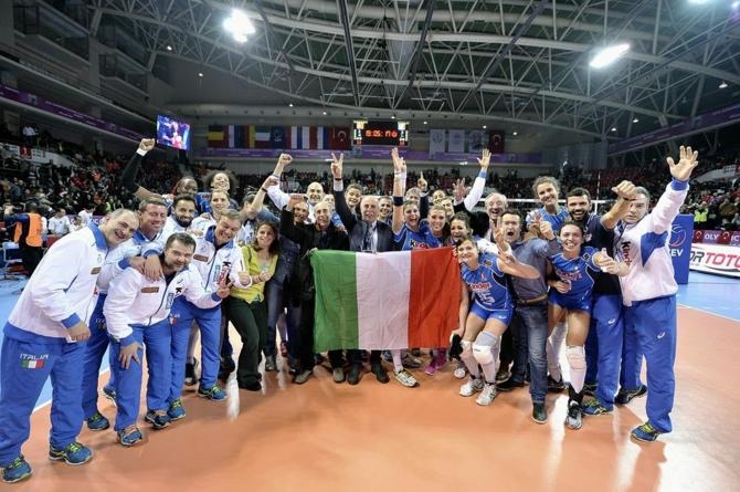 Олимпийский свет Рио еще не погас в окошке итальянских волейболисток