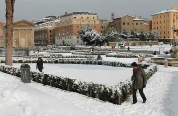 Италия готовится к снежной зиме