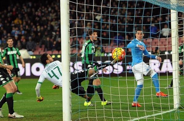 Аргентинец получил мяч в штрафной от Кальехона, спокойно переложил его сноги на ногу и также спокойно поразил ворота – 3:1.