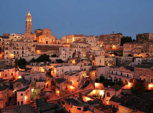 На втором месте оказалась итальянская Матера в регионе Базиликата