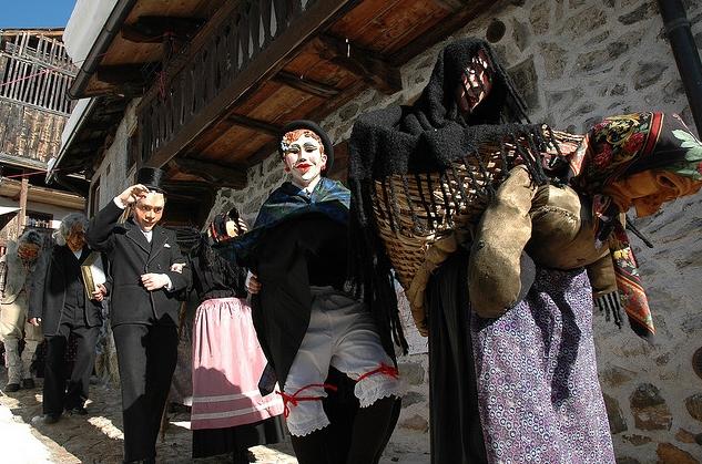 Карнавал в Доломитовых Альпах