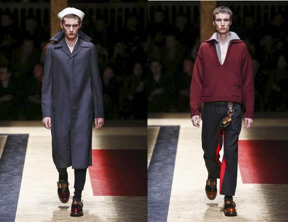 коллекция от Prada, осень-зима 2016-2017