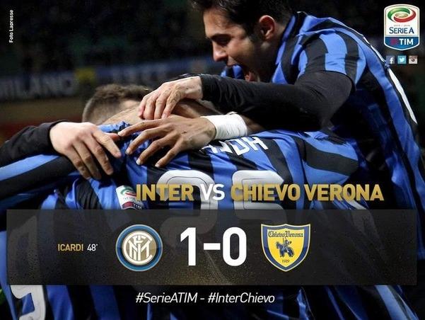 Очень тяжело сейчас «Интеру», но команда сумела добиться победы со своим традиционным счетом 1:0 над «Кьево»