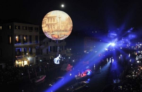 Карнавал в Венеции начался