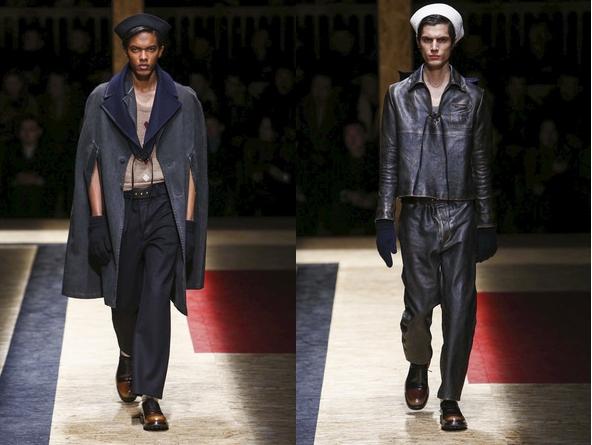 Милан. Новая мужская коллекция от Prada