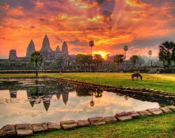 камбоджийский Сиемреап,