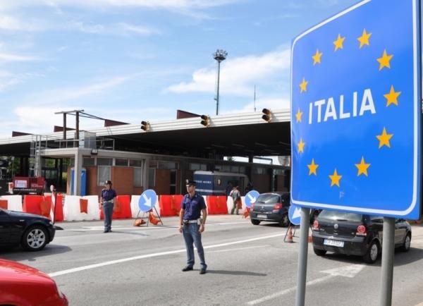 Италия готова остановить действие Шенгенского соглашения на своей территории