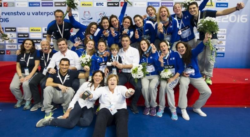 Сборная Италии по водному поло – бронзовый призер чемпионата Европы