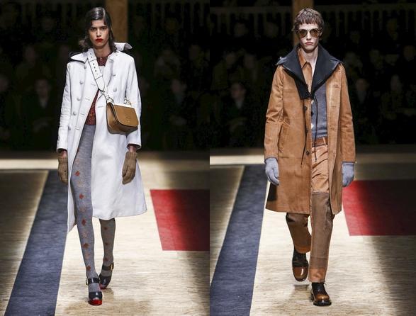 Коллекция осень-зима 2016-2017 г. была представлена в Милане