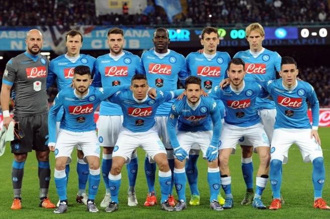 В составе неаполитанцев , с первых минут, появились футболисты, не часто выходящие в основном составе
