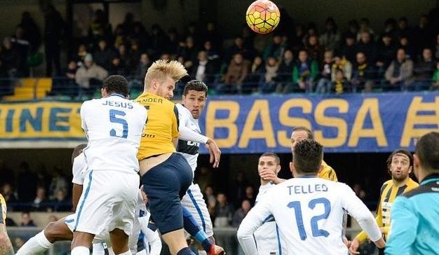«Интер» провел веселую игру в Вероне
