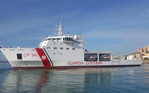 Судно с мигрантами затонуло у берегов Сицилии