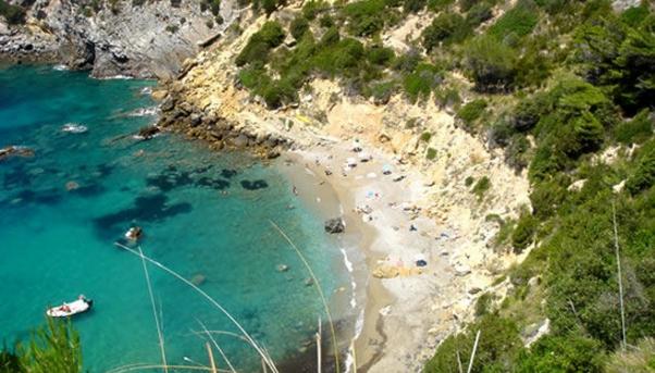 Место отдыха эпохи Возрождения на южном побережье Тосканы