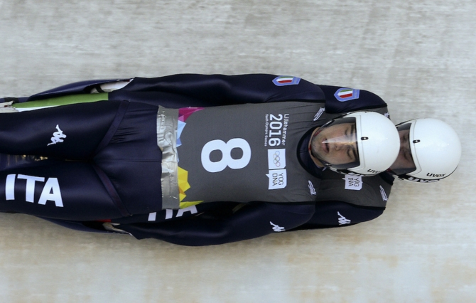 Первое «золото» Олимпиады для Италии вновь приносят саночники