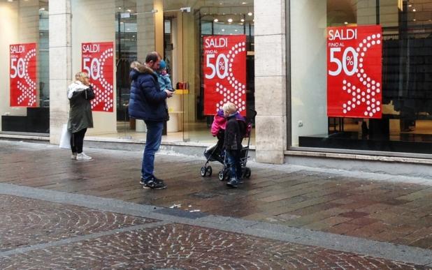 Рим: Зимняя распродажа провалилась
