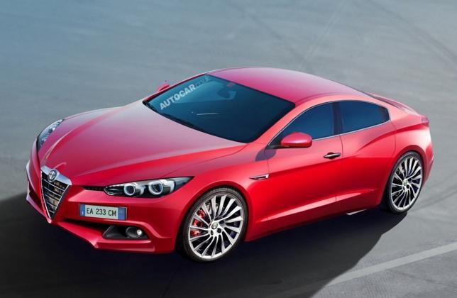 Alfa Romeo планирует выпустить седан, который, как ожидают журналисты, будет конкурировать с BMW 5 серии