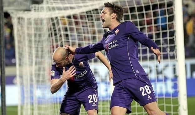 «Фиорентина» сумела вырвать важную победу у «Интера» на последней минуте матча