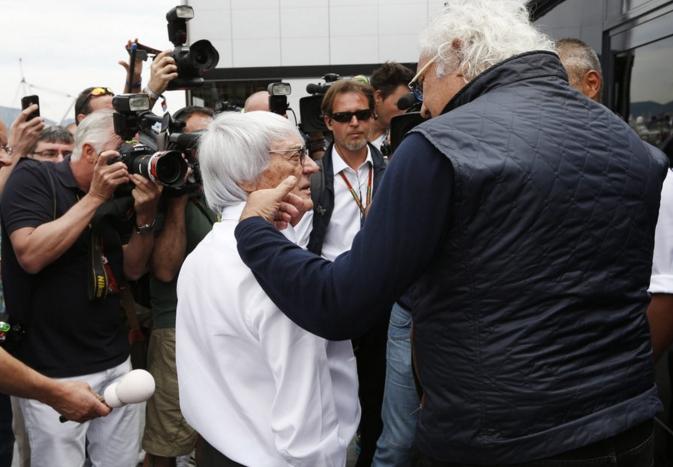 Флавио Бриаторе считает, что Берни хочет получить деньги за Монцу