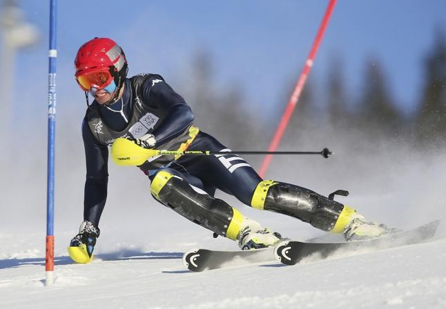 17-летний горнолыжник Пьетро Канцио