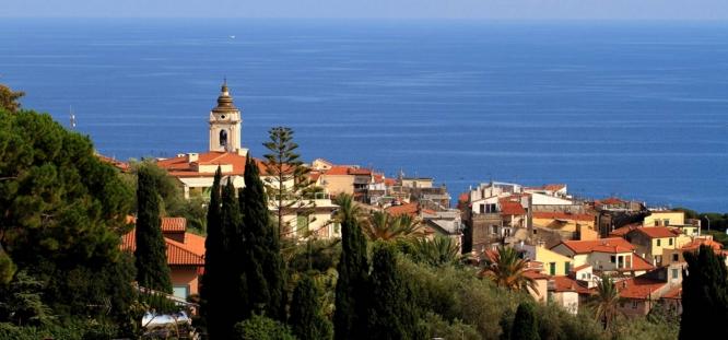 Потрясающий город Бордигера на Лигурийском побережье