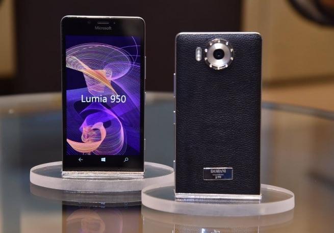 Новый смартфон Lumia 950 украсит итальянская компания Damiani