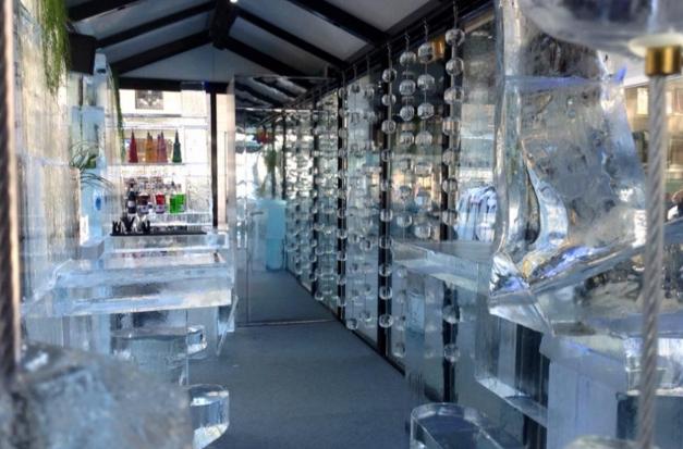 Милан: Ледяной бар в центре города