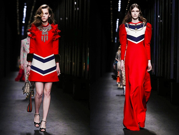 Неделю Высокой моды в Милане открыло шоу Gucci