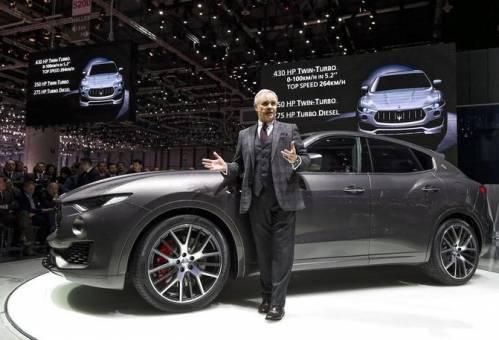 Компания Maserati показала миру свой первый кроссовер Levante